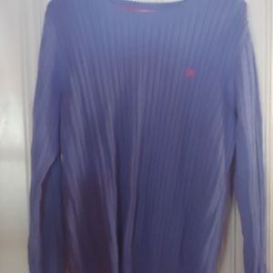 Cable knit Izod sweater